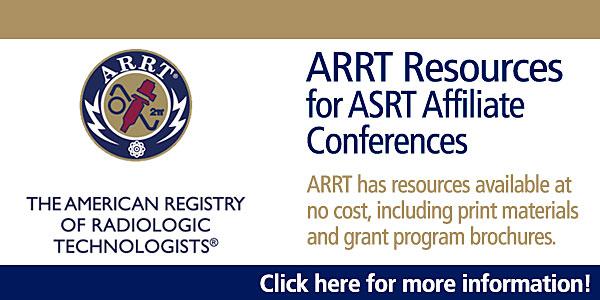 ARRT Resources for ASRT Affiliate Conferences