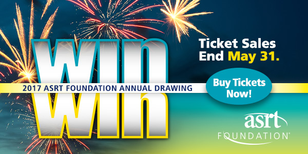 2017 ASRT Foundation Annual Drawing - Ticket Sales End May 31